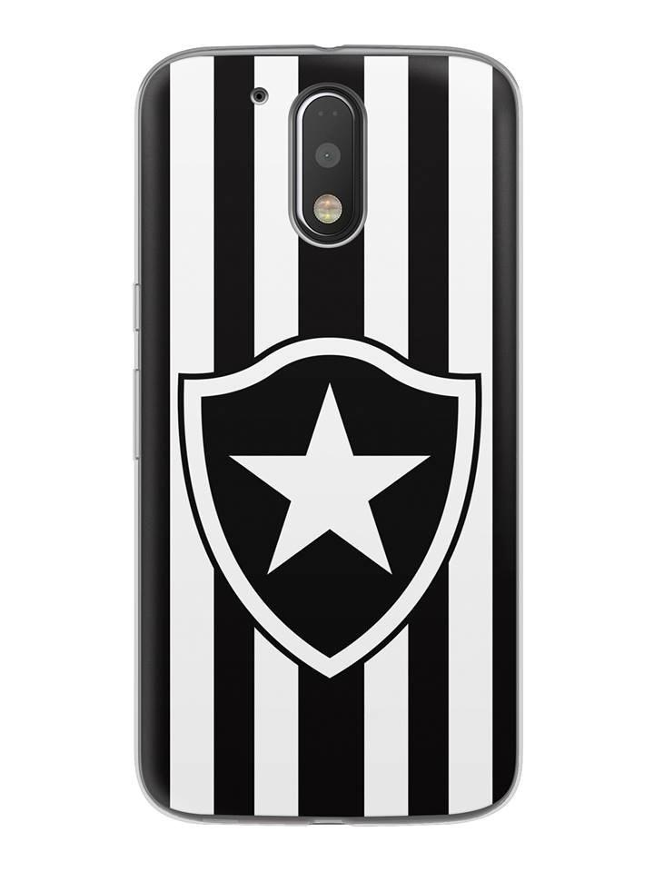Capa Capinha Celular Motorola Moto G4 G4 Plus Time Botafogo - R  29 ... 5adbc16b2292c