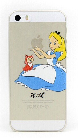 capa, capinha de iphone 5s - alice