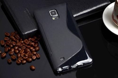 capa capinha galaxy note edge n9150 silicone / frete grátis!