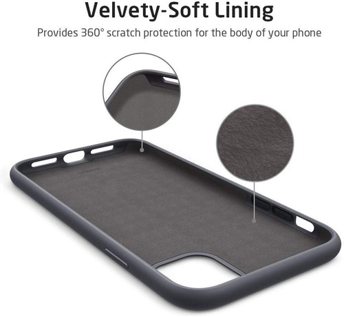 capa capinha iphone 11 (6.1) esr yippee case silicone