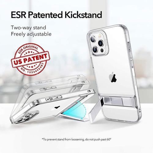 capa capinha iphone 12/12 pro 6.1 esr kickstand (c/ suporte)