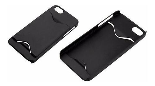 capa capinha iphone 4 4s slot cartão  case luxo + pelicula