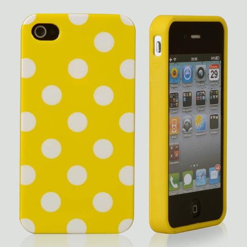 capa capinha iphone 5s apple bolinhas bola poa polka fashion
