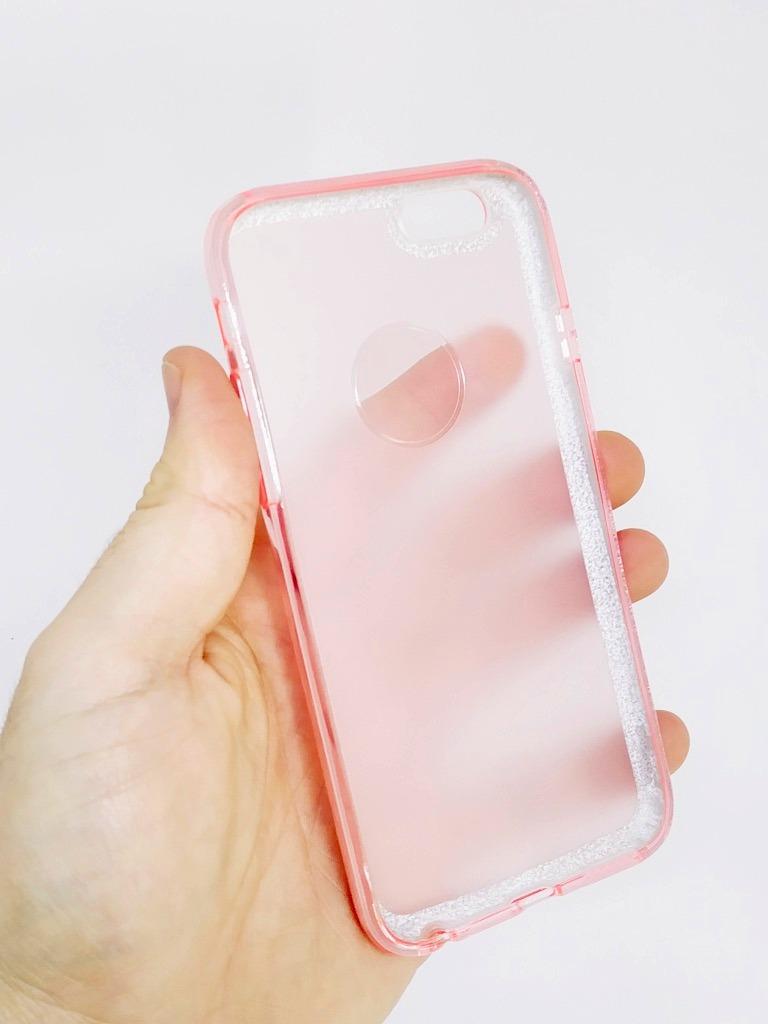 01db4fdff6c Capa Capinha iPhone 6s 6 Glitter Rosa Feminina - R$ 29,99 em Mercado ...