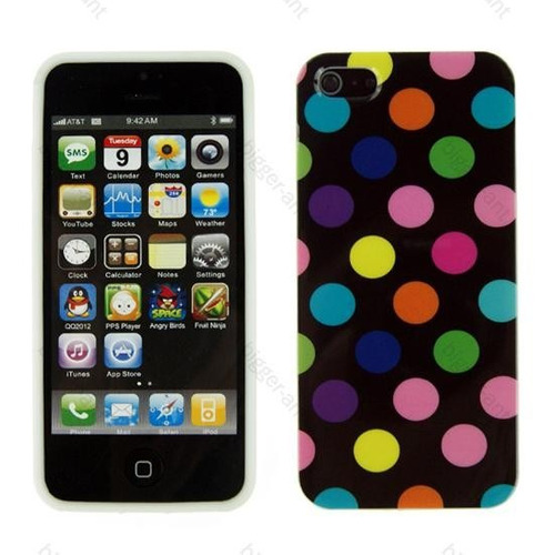 capa capinha iphone apple 5 g feminina luxo colorida 2015
