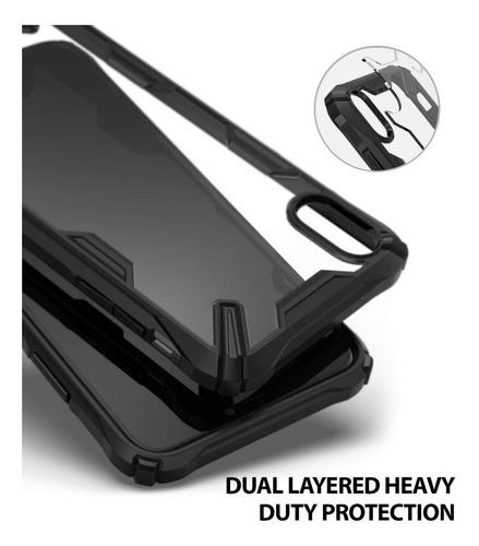 capa capinha iphone xs max ( 6.5 ) ringke fusion x case original anti choque