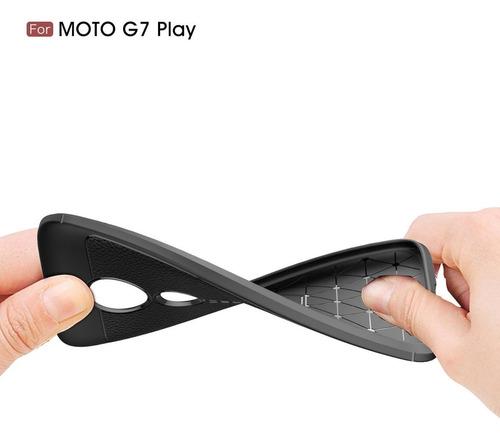capa capinha motorola moto 7 play+pelicula vidro