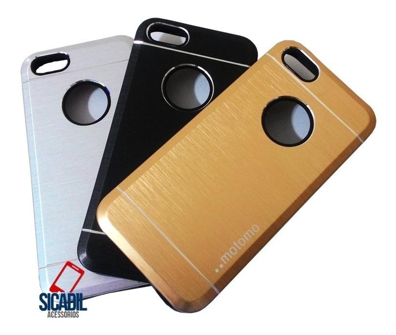 new arrival b7f32 f45a7 Capa Capinha Para iPhone 5c Case Metal Motomo Anti Impacto