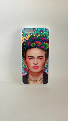 capa capinha personalizada- frida kahlo- iphone 4/4s,5/5s,5c