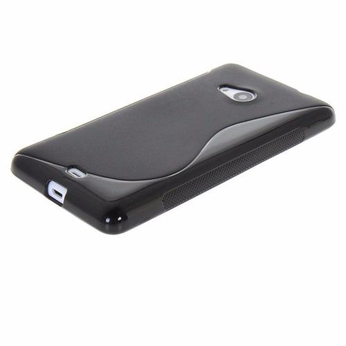 capa capinha silicone nokia lumia 535 - frete grátis!