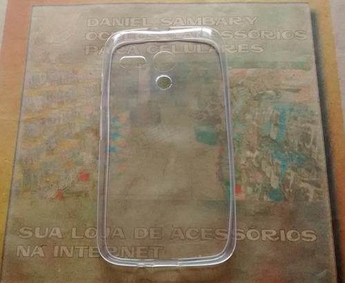 capa capinha slim moto g 1 g1 + película vidro temperado