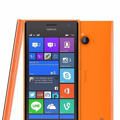 capa capinha tampa traseira celular microsoft lumia 730 735