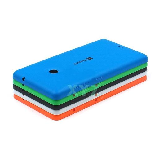 capa capinha tampa verso p celular microsoft lumia 535 n535