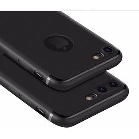 Capa Capinha Ultra Fina Fosca iPhone 5 6 7 8plus X Xr Xs Max