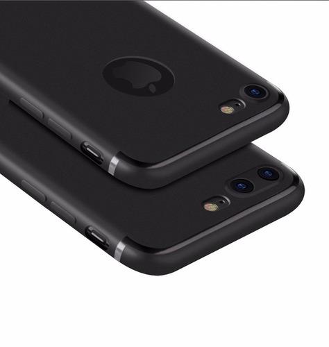 capa capinha ultra fina fosca iphone x 5s se 6s plus 7 8plus