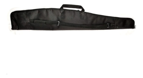 capa carabina/espingarda 1,20 mt preto com/luneta + brinde