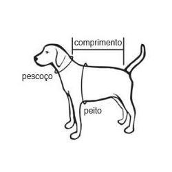 capa carapinha são pet n8 - roupa para pets (cães e gatos)