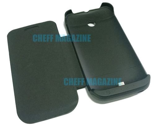 capa carregadora para moto e power bank bateria extra