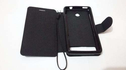 capa carteira sony xperia e1 d2004 d2005 e1 dual d2104 d2114