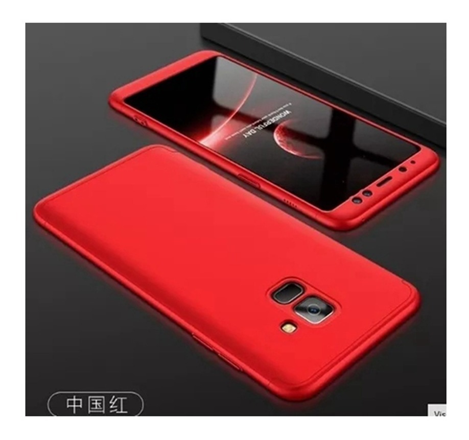 d244848331 Capa Case 360° Samsung Galaxy J6 2018+1 Película Vidro Top - R$ 39 ...