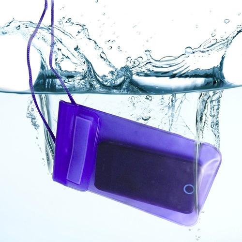 capa case a prova d'agua estanque iphone galaxy nokia moto g