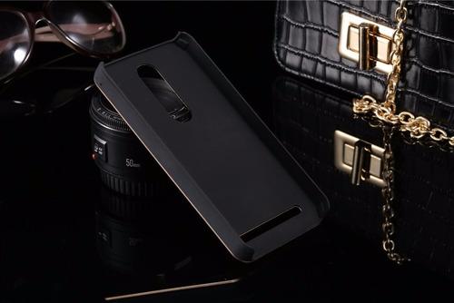 capa case alumínio asus zenfone 2 ze551 + película de vidro