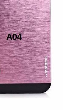 capa case aluminio escovada galaxy a7 a700 + película vidro