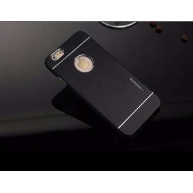 Capa Case Alumínio iPhone 6 (4.7) Motomo + Película Vidro