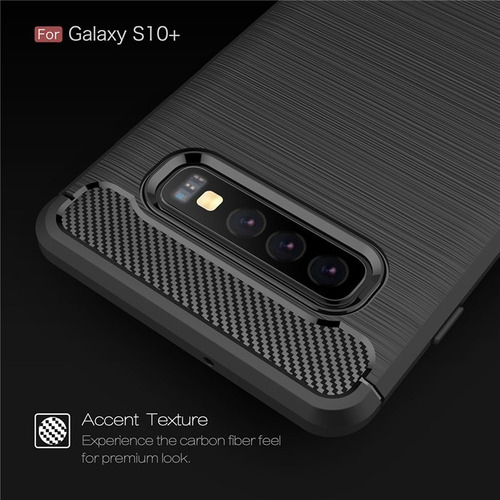 capa case anti impacto fibra samsung galaxy s10 plus 6.4