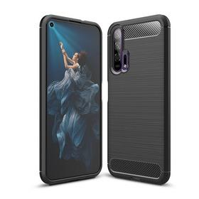 Capa Case Anti Impacto Huawei Honor 20 Pro Fibra De Carbono Capinha Anti Queda Shock Tela 6.26