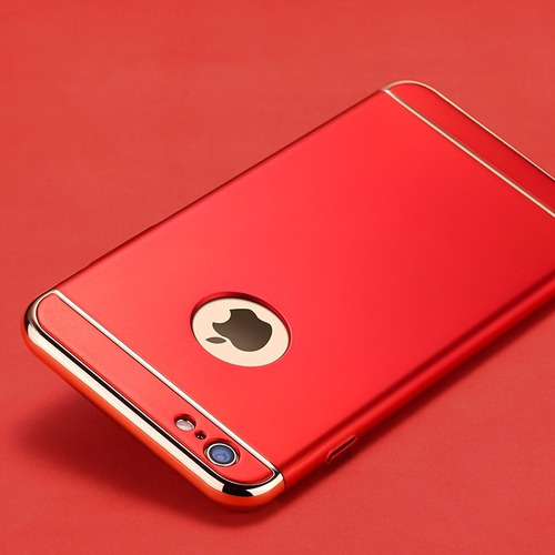 capa case anti shock  proteção iphone 7 5s se 6s plus 8 x