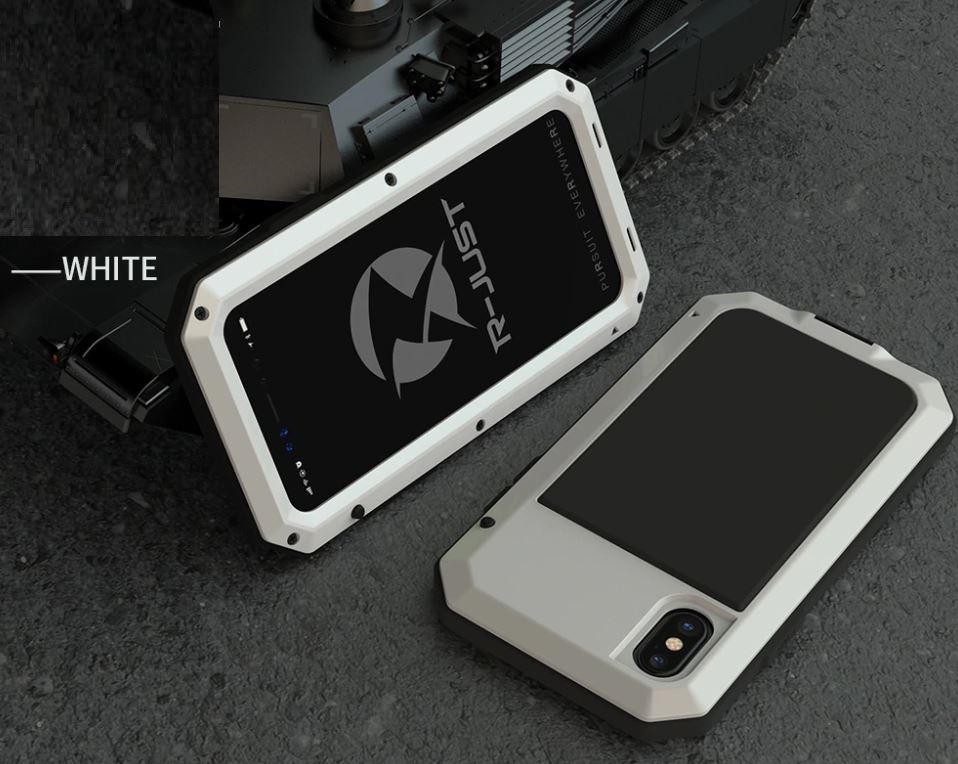 e975eca1aec Capa Case Armadura Blindada iPhone 5 7 8 Plus X Xs Max - R$ 99,90 em ...