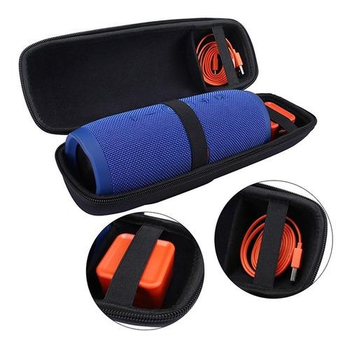 capa case bolsa p/ jbl charge 3 rígida transporta acessórios