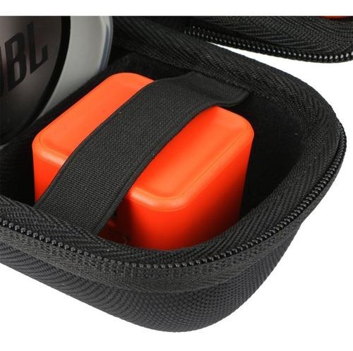 capa case bolsa para jbl charge 3 rígida porta acessórios