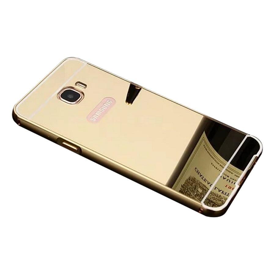 610b773d5 capa case bumper espelhado samsung galaxy j7 prime dourado. Carregando zoom.