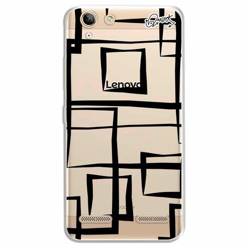 capa case capinha lenovo k5 - abstrato quadrados