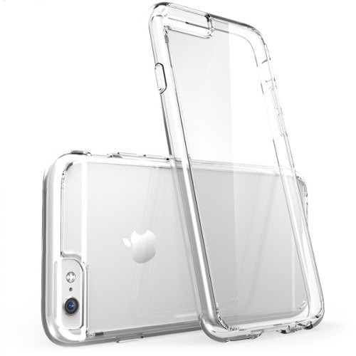 capa case capinha tpu transparente para iphone 6 plus