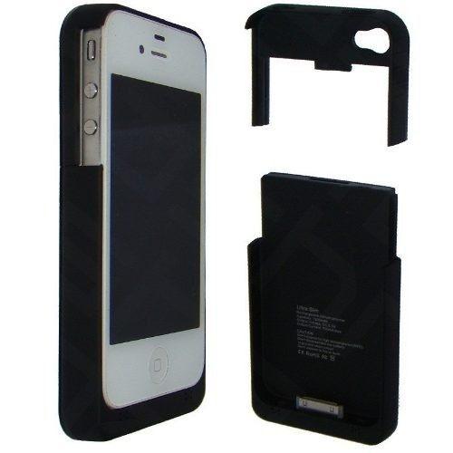 capa case carregador bateria extra para iphone 4 4s externa