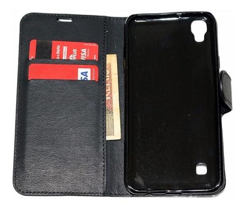 capa case carteira lg x power k220 tela 5.3