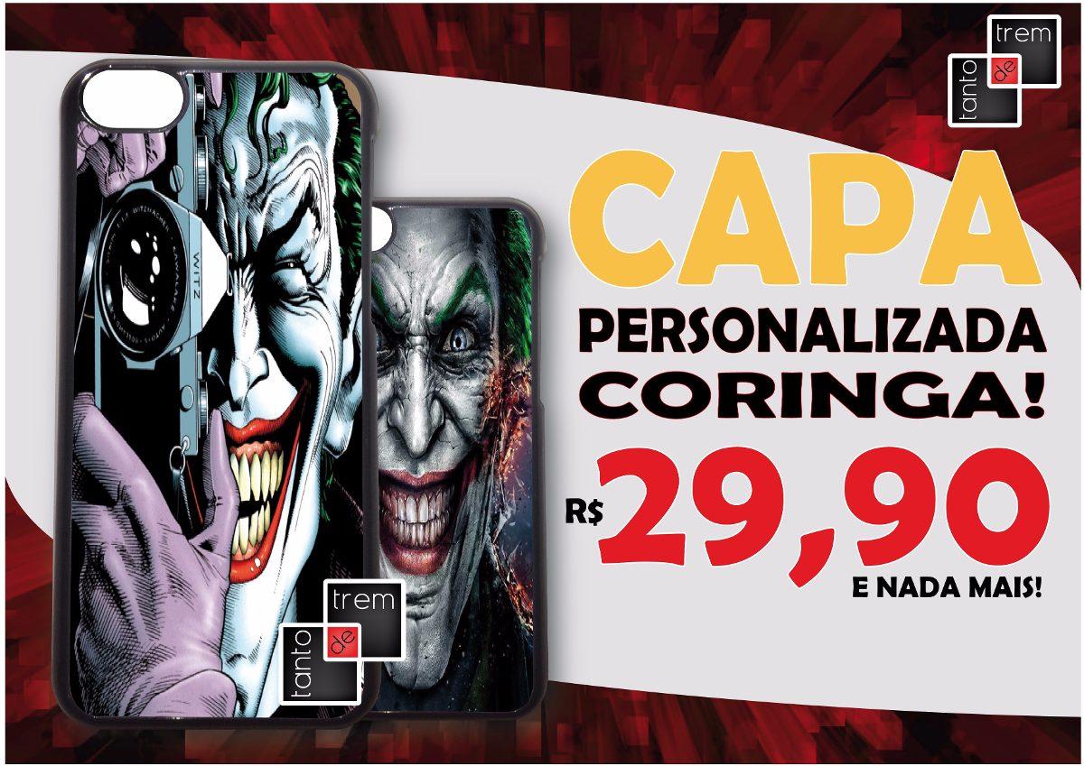 Capa Case Celular Coringa Asus Zenfone 5 6 2 Laser Go