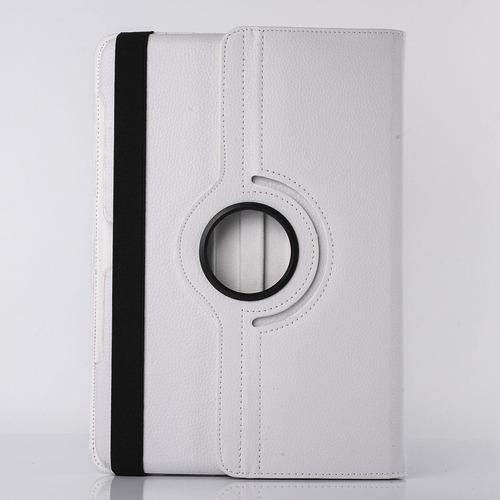 capa case couro gira 360° samsung galaxy tab t2100