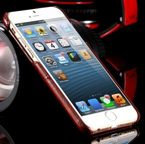 capa case couro iphone iphone 6 4.7 apple