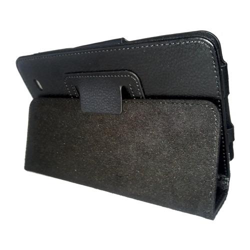 capa case couro tablet lg g pad 7.0 v400 + pelicula vidro