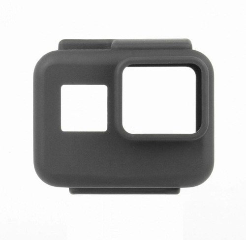 capa case de silicone gopro hero 5 e 6 black