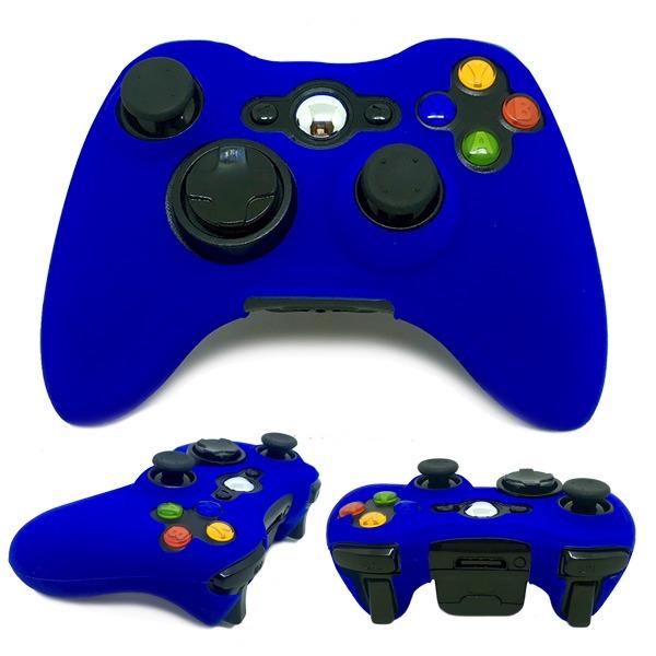 f301af319fd4d Capa Case De Silicone Protetora Controle Xbox 360 Colorida - R  10 ...