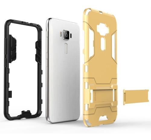 capa case dupla proteção anti impacto asus zenfone 3 tela5.2
