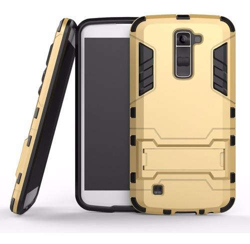 capa case dupla proteção anti impacto celular lg k10 dual tv