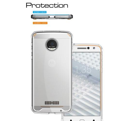 capa case dupla proteção anti impacto motorola moto z play