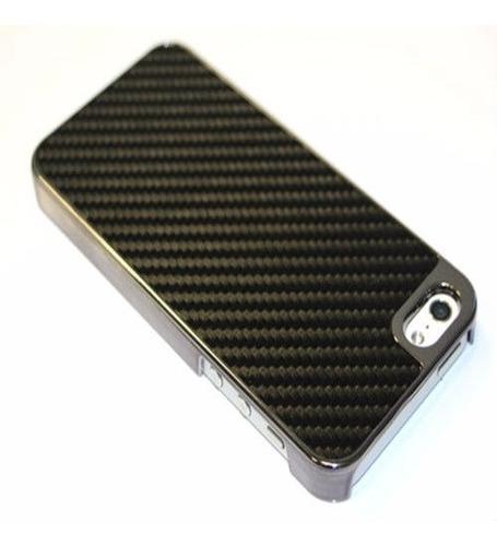 capa case fibra carbono apple iphone 4 4s pelicula gratis