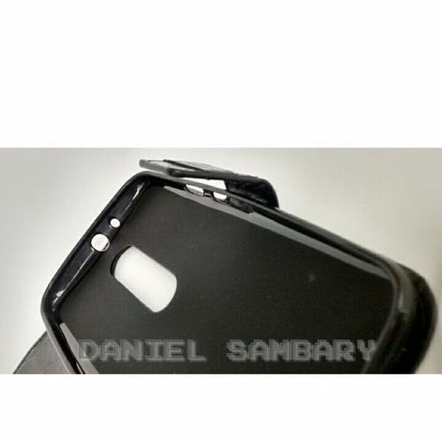 capa case flip carteira preta novo moto g 3 geração g3 couro